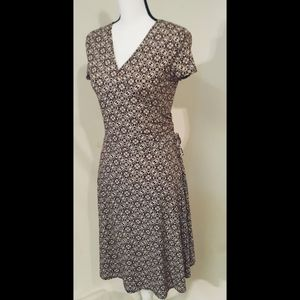 MSK Petite Women's Brown Dress